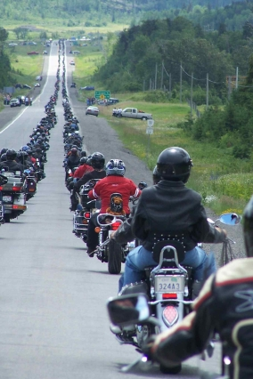 Bikers Reunion expects 15 mile long procession