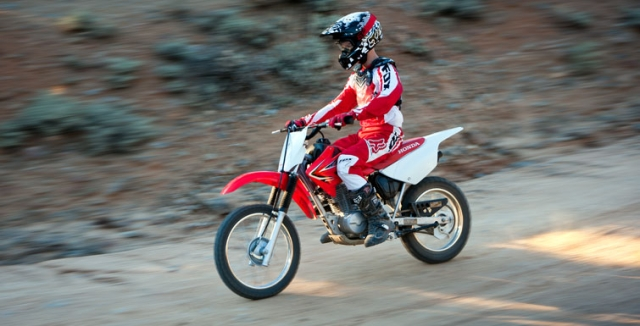 Dirt Bike Sizes For Kids Honda CRF F Photo Honda